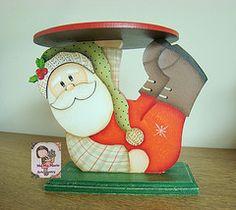 "Porta panetone ""Noel "" (Ma Ma Marie Artcountry) Tags: natal noel papainoel tolepainting pinturacountry portapanetone dunaatelie"