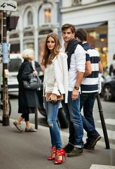 Stylish Starlets: Chic Couple: Olivia Palermo & Johannes