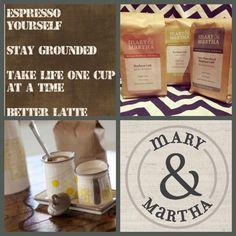 Coffee!  More at http://www.mymaryandmartha.com/sschwinck