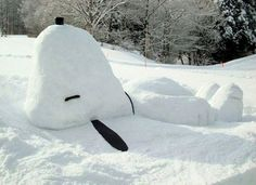 These 27 Intricate Snow Sculptures Aren't Your Little Brother's Snowman