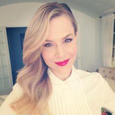 Julie Benz ♥ Red Lips