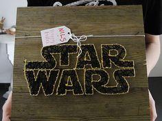 stempelkiste | BASTEL-ECKE - String art Star Wars