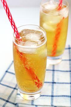 Green Tea Soda - sugar-free and full of antioxidants!
