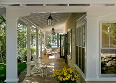 Remarkable Porch Ideas For Ranch Style Homes for Porch Beach design ideas with Remarkable coast coastal cottage