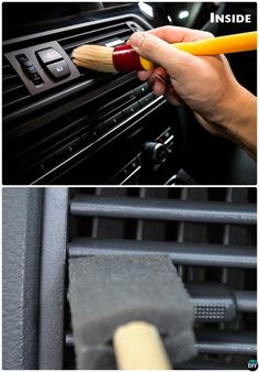Clean Car AC Vent Car Cleaning Detailing Tips and Tricks