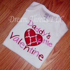 Valentines day daddy onesie or shirt made to order by DreamThread