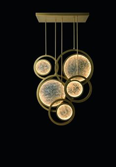 Moon lighting collection by Oasis Modern Lighting Design, Luxury Lighting, Custom Lighting, Orb Light, Light Art, Pendant Lamp, Pendant Lighting, Copper Lighting, Moon Decor
