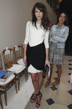 Caroline Sieber Photos - Giambatista Valli: Front Row -  Paris Fashion Week Haute Couture F/W 2011/2012 - Zimbio