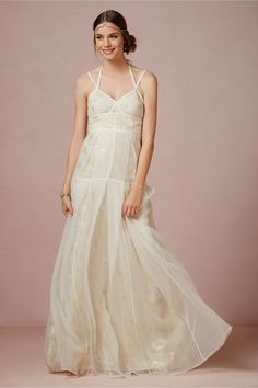 Novecento Gown from BHLDN