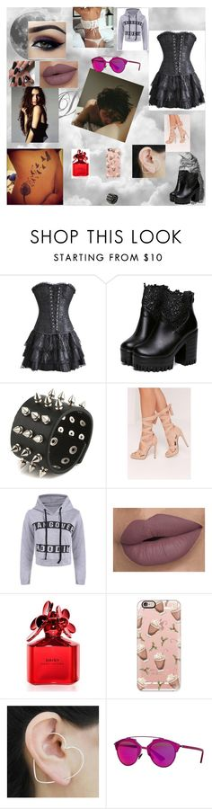 """""""mercy 25"""" by nikoleta-nicky-malik ❤ liked on Polyvore featuring Emma Watson, Missguided, Marc Jacobs, Casetify, Otis Jaxon and Christian Dior"""