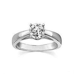 Engagement Ring, Round Shape