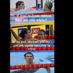 Mean Girls and Michael Phelps...a win win