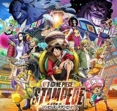 "One Piece Stampede Original Soundtrack""Pirate World Expo"" to revitalize this . One Piece Anime, One Piece アニメ, One Piece Movies, Watch One Piece, 0ne Piece, Hindi Movies, Disney Pixar, Trafalgar D Water Law, Film Vf"