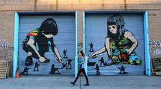 Street Art By Iranian Artists Icy And Sot In Bushwick, New York City. 1