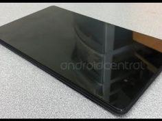 Primeras imágenes y video de la nueva Nexus 7, sería presentado el 24 de julio