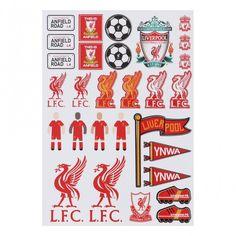 LFC A4 Sticker Set | Liverpool FC Official Store