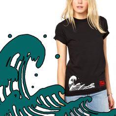 Nami 波 - T-shirt