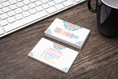 LuLaRoe Business Card White - Boho Pattern-LLR Colors- Home Office Compliant-Branding Guide Compliant -Customizable - Flower - Swirl by MommyDesignStudio on Etsy https://www.etsy.com/listing/486413608/lularoe-business-card-white-boho-pattern