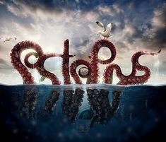 Inspiring Photo Manipulations by PSHoudini Looks like the word Sister to me?