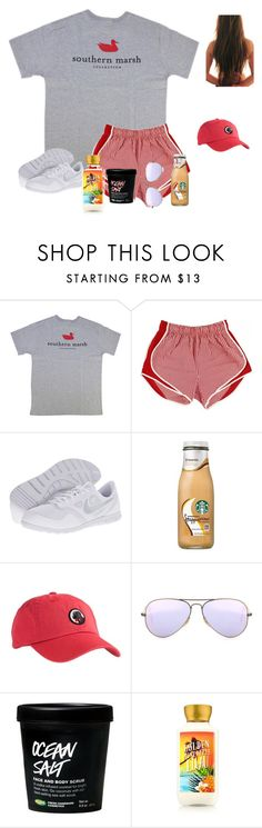 """""""Ride lines """" by raquate1232 ❤ liked on Polyvore featuring NIKE, Southern Proper and Ray-Ban"""