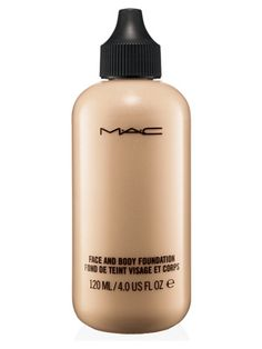 Ever wish you had foundation that wasn't just for face makeup? Luckily MAC's face and body foundation can cover your skin from top to bottom for a completely flawless finish. Make sure you pat in some translucent powder to set the foundation before heading out the door.Face and Body Foundation, £26.50 MAC Cosmetics NOW SEE THE 15 BEST NEW FOUNDATIONS  -Cosmopolitan.co.uk