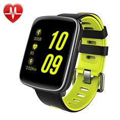 Smart Watch, Willful Bluetooth Smartwatch Waterproof Sport Fitness Watch with Heart Rate Monitor Pedometer Sleep Monitor SMS App Notice Alarm Clocks for iPhone IOS Android Phones (Red) Bluetooth Watch, Bluetooth Speakers, Remote Camera, Android Watch, Android Phones, Running Watch, Ipad, Wearable Device, Smartwatch