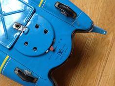 VERY RARE ORIGINAL JAPANESE TINPLATE BATTERY S-17 SPACE ROBOT SCOUT BY YANOMAN   eBay Tin Toys, Robot, Japanese, Space, The Originals, Ebay, Display, Japanese Language, Robotics