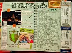 Smash Book. I dont really have time to hardcore scrapbook anymore, and this quicker, less formal smash book idea is an awesome alternative.