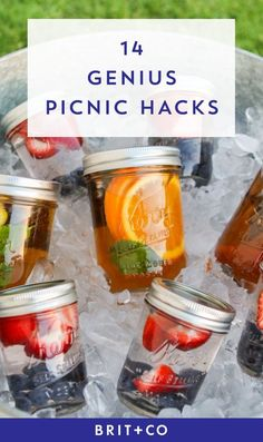 Picnic season is just around the corner + these fab picnic hacks will make it oh so easy.