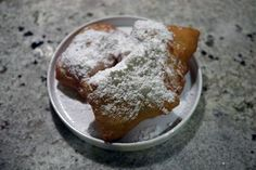 vegan beignets - i have GOT to learn to make these for Mark.