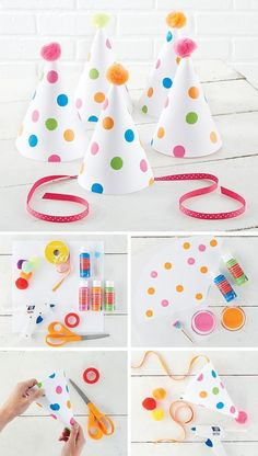 Easy #DIY #Party Hats