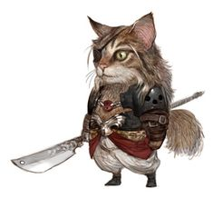 "Titled ""Army of wool,"" this series of illustrations by artist and concept designer Kyonghwan Kim picturing various breeds of cats as Dungeons & Dragons characters is nothing short o…"
