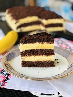 Tiramisu, Cheesecake, Sweets, Ethnic Recipes, Desserts, Design Case, Food, Cakes, Banana