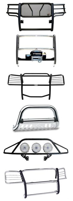 Get front-end protection and style with Summit Racing's selection of grille guards from Westin Automotive, Dee Zee, Go Rhino and more.