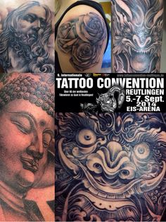 reutlingen tattoo convention 2014 Patong anesthesia tattoo will joy www.patonganesthesiatattoo.com
