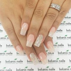 Ombre French coffin nails                                                                                                                                                                                 More