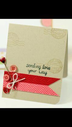 Handmade card I like