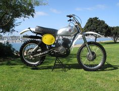 1976 Factory works Moto X CZ400.