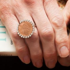 Create a DIY Penny Ring with this simple DIY tutorial, complete with instructions and photos. Use a penny with a date that's important to you.