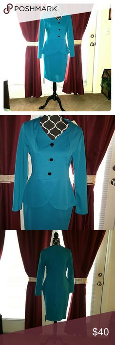 New with tags Classy fitted one piece dress Dresses Long Sleeve