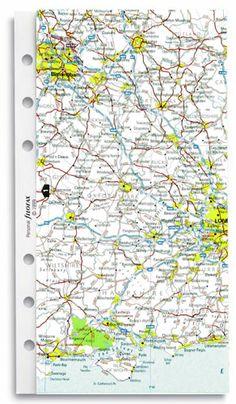 Map for Filofax