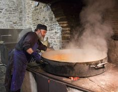 The monks T Agion Oros-Holy Mount -Athos-- Cooking Spiritual But Not Religious, Images Of Faith, Feasts Of The Lord, The Holy Mountain, Republic Of Macedonia, Wood Fired Oven, Orthodox Christianity, The Monks, Street Food