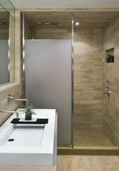 Newton Residence - contemporary - bathroom - boston - Denali Construction