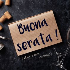Frase della settimana / Phrase of the week: Buona serata! (Have a nice evening!) To find out more about this phrase and hear the pronunciation, visit our website! #italian #italiano #italianlanguage #italianlessons Italian Grammar, Italian Vocabulary, Italian Phrases, Latin Phrases, Italian Language, Funny Italian Quotes, Italian Humor, Fun Facts About Italy, Beautiful Italian Words