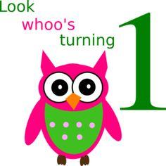 Birthday Owl Clip Art