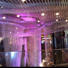 Aria lobby, Las Vegas. How do I do the same in my bathroom?