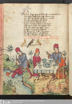 200 [98v] - Ms. germ. qu. 12 - Die sieben weisen Meister - Seite - Mittelalterliche Handschriften - Digitale Sammlungen