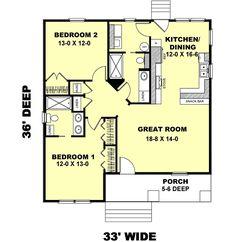 Cottage Style House Plans - Print - Plan 49-104