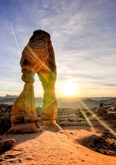 I've been to Arches National Park, Utah and it is beautiful!