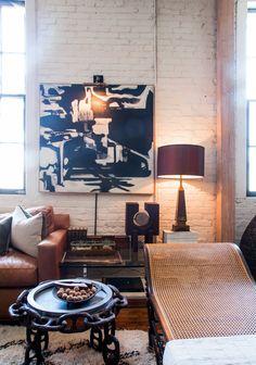 Scott & Kristan's Inspiring Arts District Loft